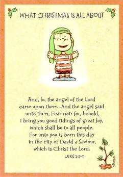 Linus  What Christmas is all about