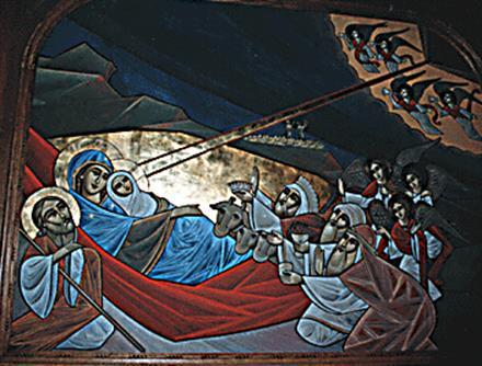 Nativity Coptic Style